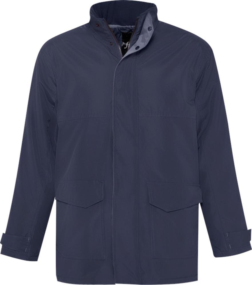 Куртка унисекс RECORD темно-синяя, размер M фото