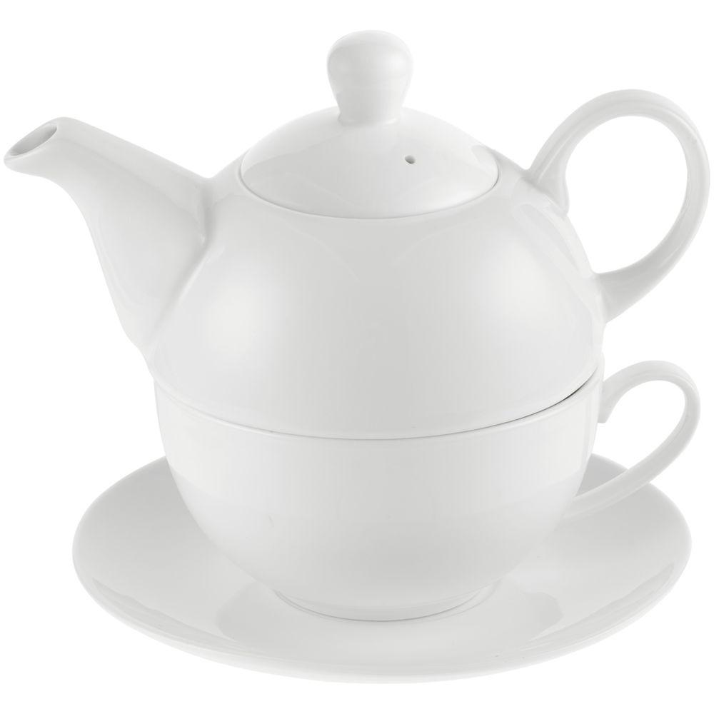 Чайный набор «Эгоист» ver.2, белый фартук delica ver 2 белый