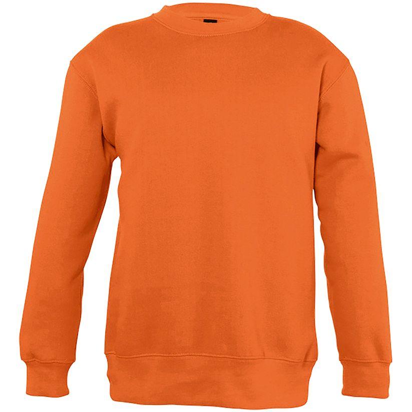 Толстовка детская New Supreme Kids 280, оранжевая, на рост 106-116 см