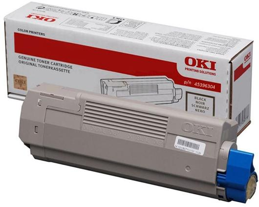 Фото - Тонер-картридж OKI TONER-K-C612-NEU (46507520) тонер картридж oki c5650 5750 2k yellow