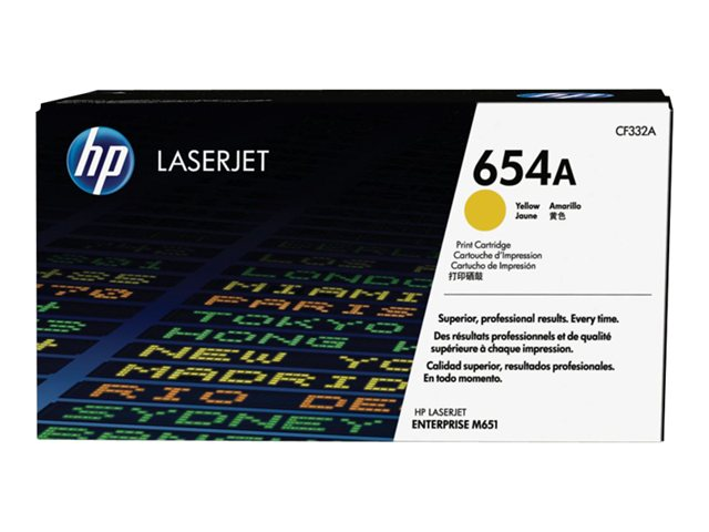 Тонер-картридж HP 654A CF332A цена