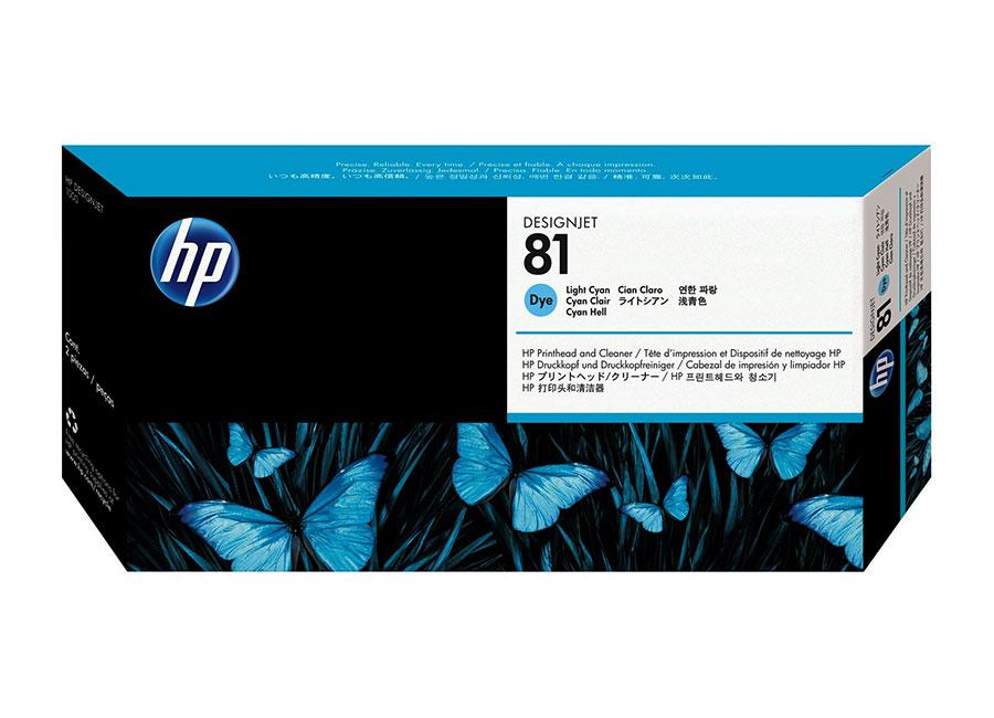 Печатающая головка HP Printhead №81 Light Cyan (C4954A) print head c4950a c4951a c4952a c4953a c4954a c4955a for hp81 for hp 81 printhead for hp designjet 5000 5000ps 5500 5500ps