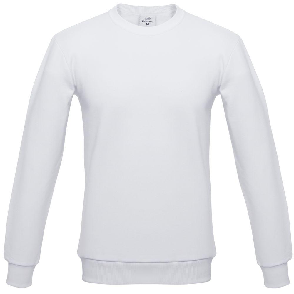 Толстовка Unit Toima Heavy белая, размер 3XL