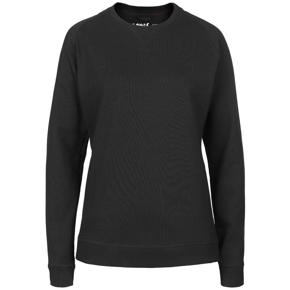 Свитшот женский Kulonga Sweat черный, размер XL свитшот женский oodji collection цвет белый синий болотный 24801010 12 42316 3070f размер xl 50