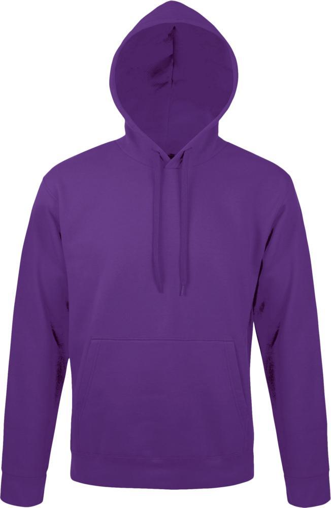 Толстовка с капюшоном Snake 280 темно-фиолетовая, размер 3XL фото