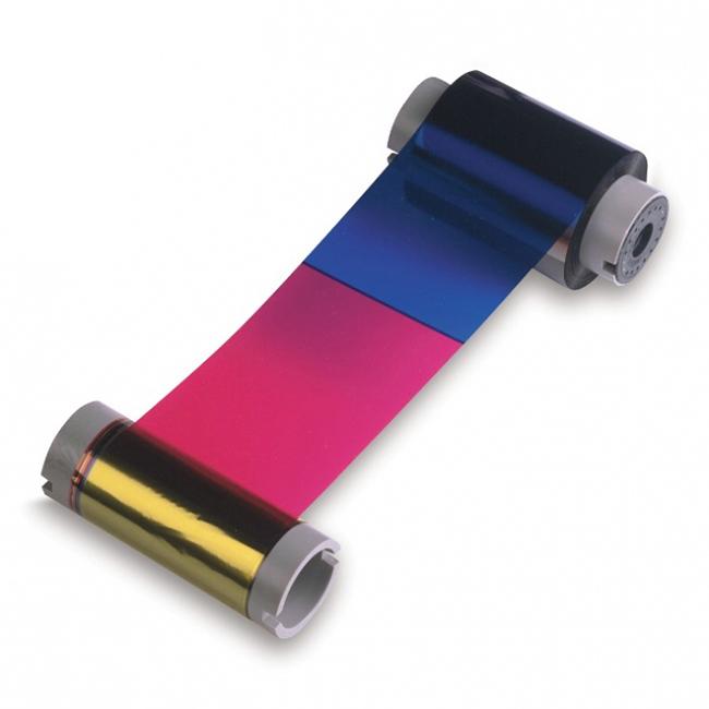 Фото - Полноцветная лента YMCKO 45700 лента для полноцветной печати evolis ymcko r3011