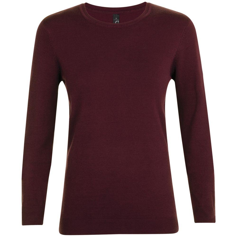 Джемпер женский GINGER WOMEN, бордовый, размер XL цена 2017