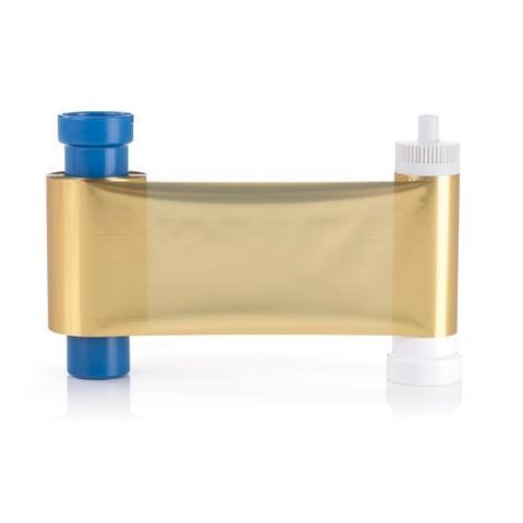 Фото - Монохромная лента для принтеров, золотая Magicard MA1000 Metallic лента для цветной печати на 250 отпечатков для принтеров magicard 300 duo