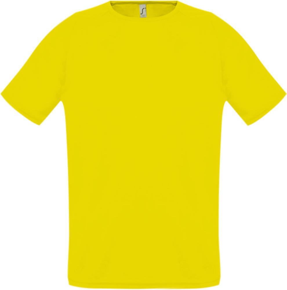 Футболка унисекс SPORTY 140 лимонно-желтая, размер XXS футболка унисекс sporty 140 красная размер xxs