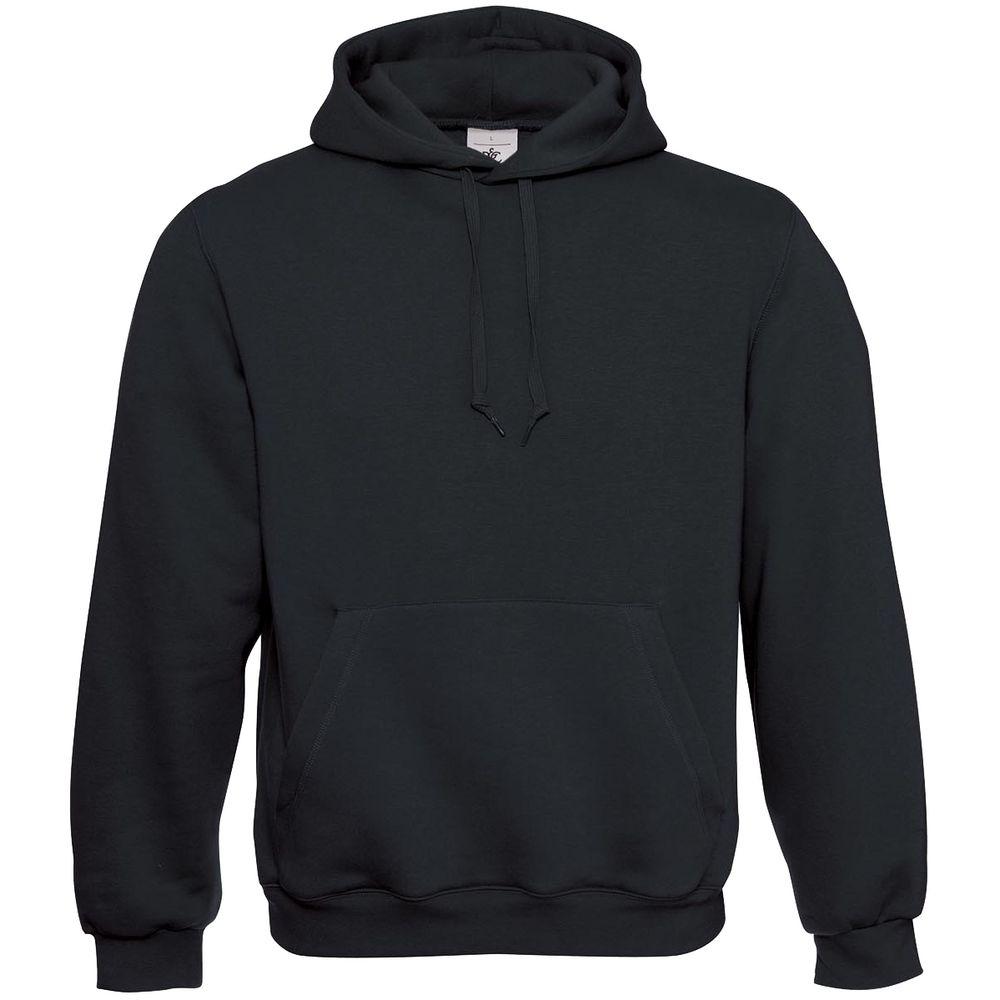 Толстовка Hooded черная, размер S