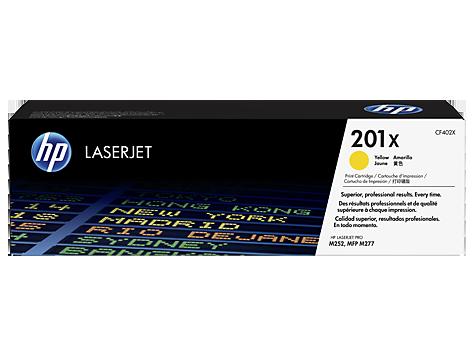 Картридж HP 201X LaserJet (CF402X) цена