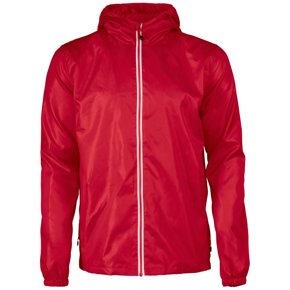 Ветровка мужская FASTPLANT красная, размер S ветровка мужская helly hansen crew hooded jacket цвет синий 33875 597 размер s 46