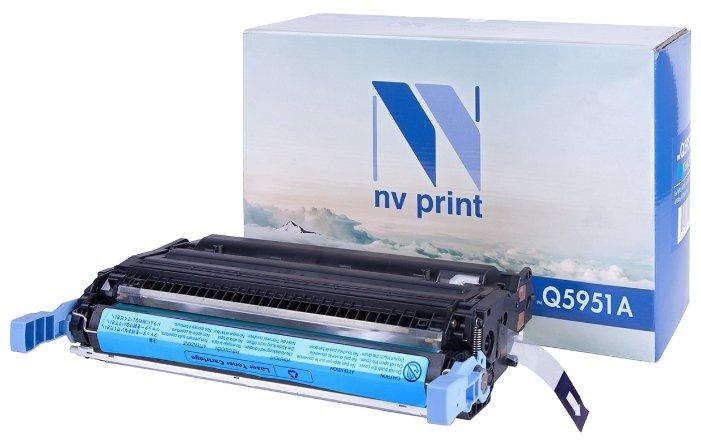 Фото - Картридж NV Print Q5951A Cyan картридж nv print fx 10 для l100 120 mf4010 4140 4330 4660