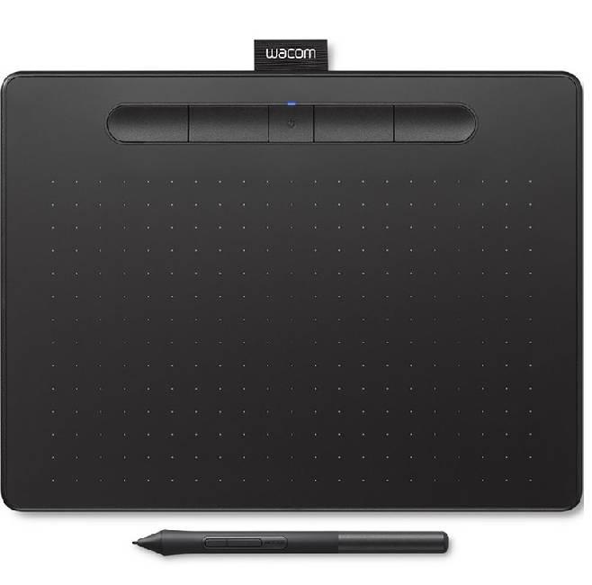Intuos M Bluetooth, черный (CTL-6100WLK-N) графический планшет wacom intuos bluetooth medium ctl 6100wlk n черный