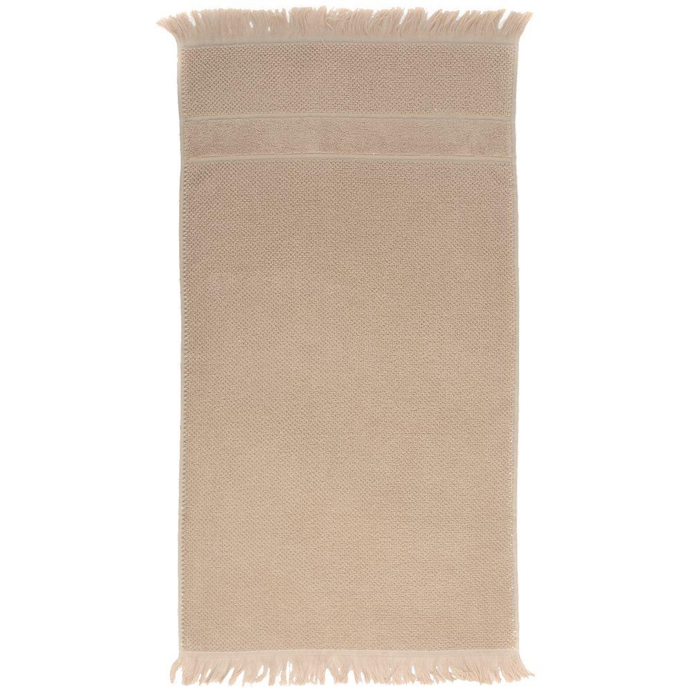 Полотенце Essential с бахромой, бежевое