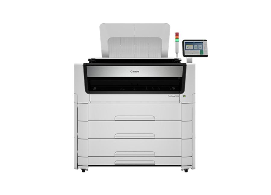 Фото - Oce Plotwave 7500 P6R комплект со сканером + Folder Professional 6011 комплект цанг zc 23 3 4 5 6 мм