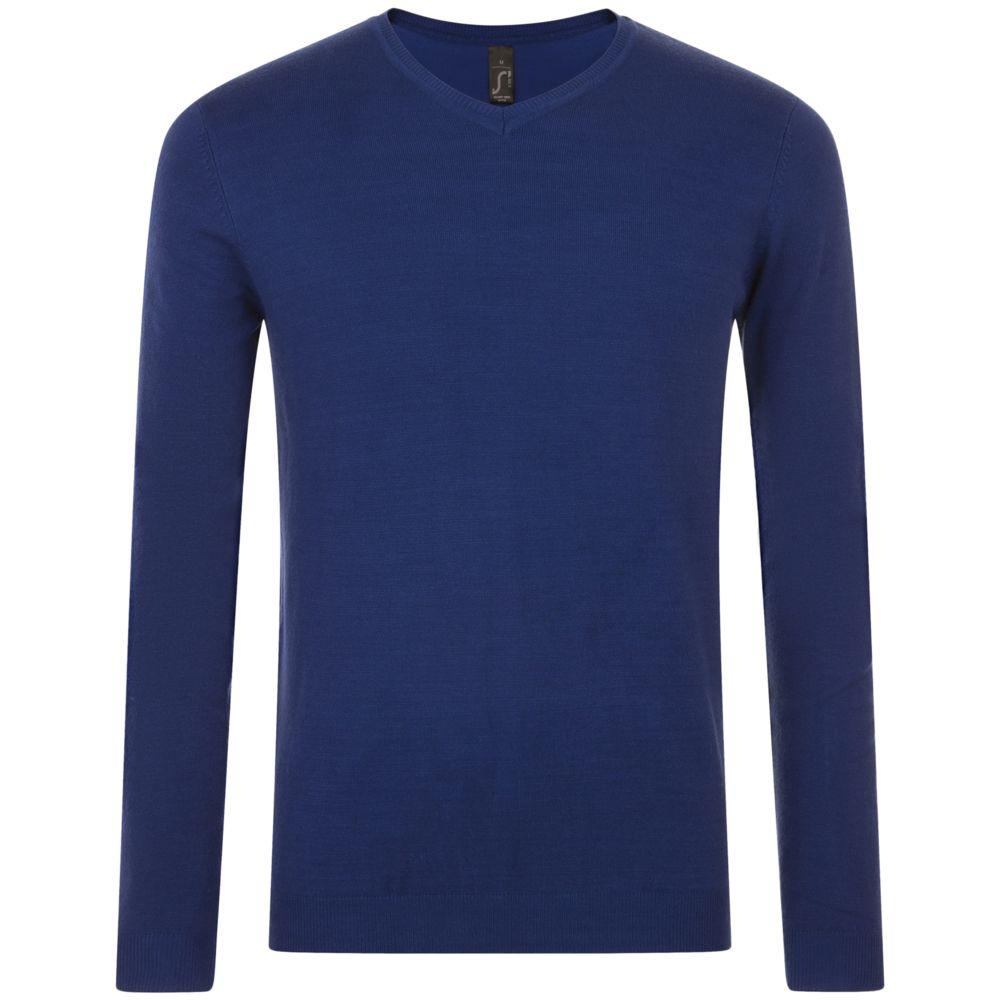 цена на Пуловер мужской GLORY MEN синий ультрамарин, размер 3XL