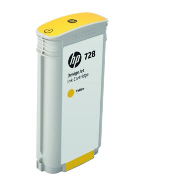 Фото - HP DesignJet 728 Yellow 130 мл (F9J65A) картридж hp 728 f9j66a для hp dj t730 t830 пурпурный