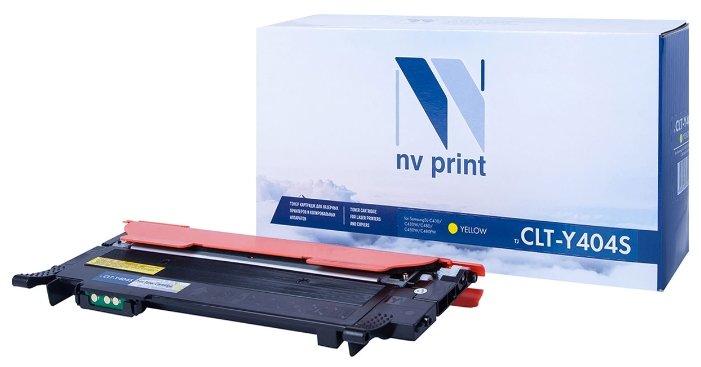 Картридж NV Print CLT-Y404S Y картридж nv print clt k504s