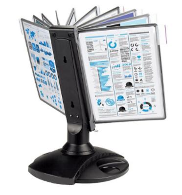 Фото - Настольная система ProMega Office вращающаяся (A4, черная) душевая система tres loft 20018002