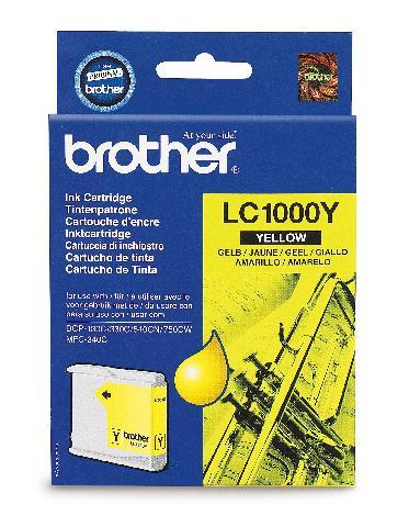 Фото - Картридж Brother LC1000Y картридж brother lc3619xlc