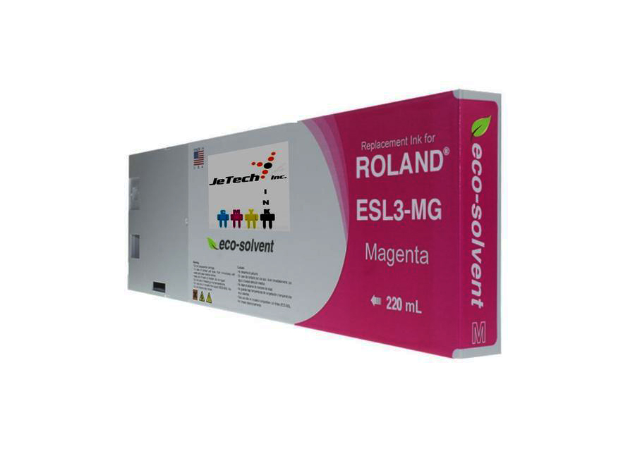 Eco-Solvent Magenta 220 мл (ESL3-MG) good quality 4 with 4 bulk ink supply system ink tank supply system for mimaki roland mutoh eco solvent printer machine