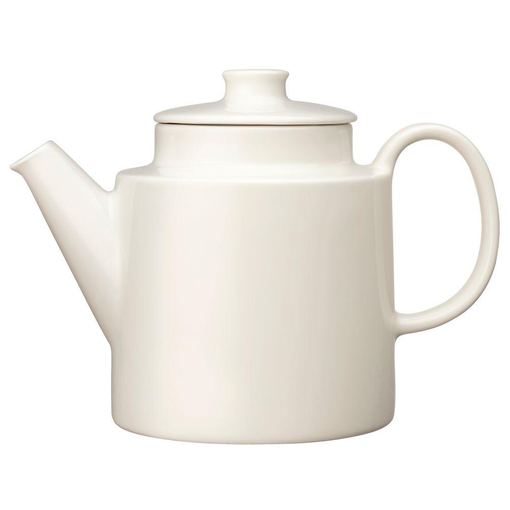 Фото - Чайник заварочный Teema, белый fm 07 3 заварочный чайник маки pavone