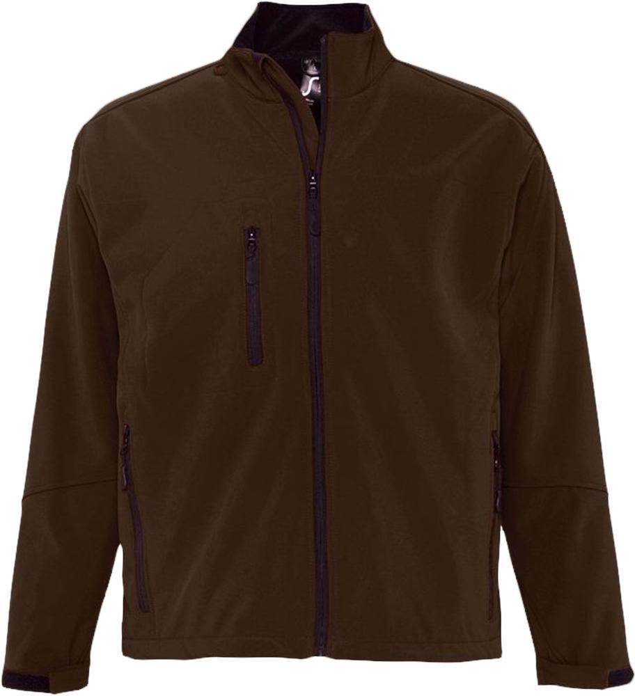 Куртка мужская на молнии RELAX 340 коричневая, размер XL