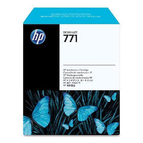 Фото - Обслуживающий картридж HP Designjet 771 (CH644A) для HP Designjet Z6200 обслуживающий картридж hp 91 c9518a для hp designjet z6100 z6100ps