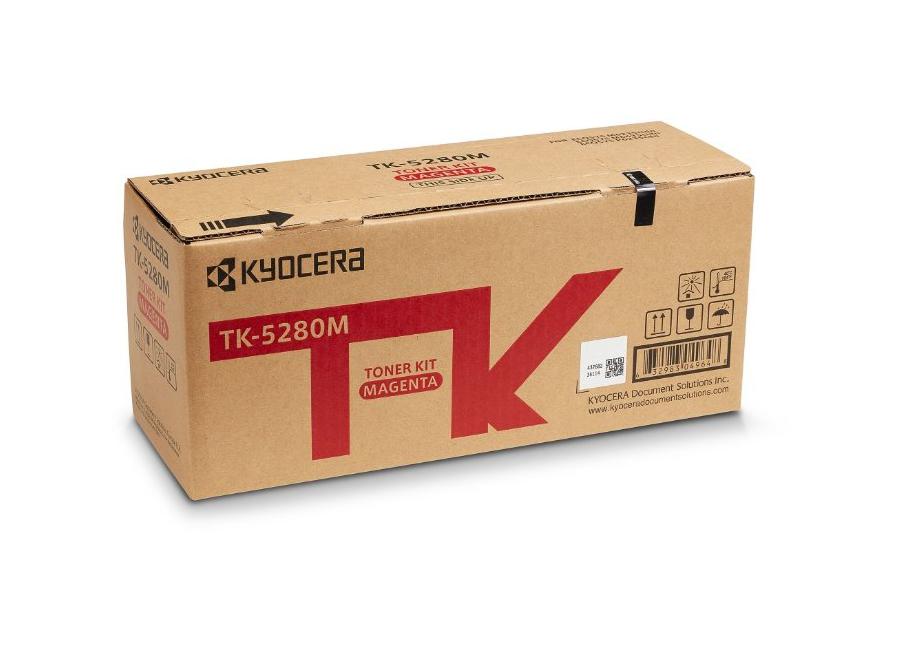 Фото - Тонер-картридж Kyocera TK-5280M для P6235cdn/M6235cidn/M6635cidn тонер картридж kyocera tk 880k