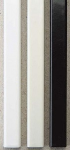 Фото - Металлические каналы O.Simple Channel А4 297 мм 7 мм, белые контейнер д мелочей fresh 25 5x5 5x4см 7 секций пластик