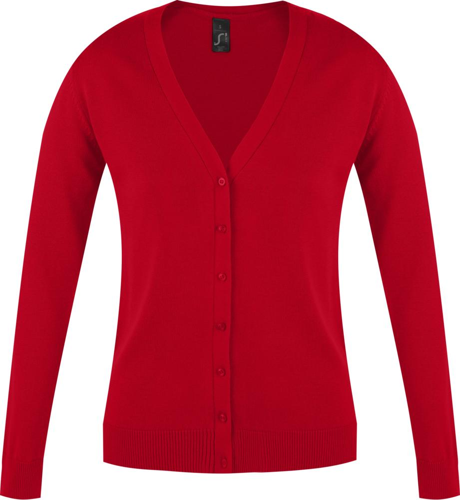 Джемпер женский GOLDEN WOMEN красный, размер L джемпер женский baon цвет бордовый b137564 arum размер l 48