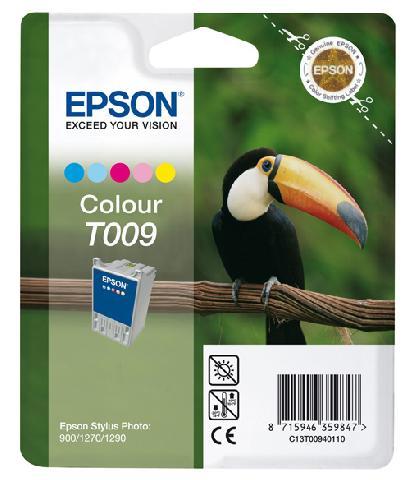 Фото - Цветной картридж T009 для SP1270 (C13T00940110) копилка котик цветной керамика 12х9 12 7365 13464 1