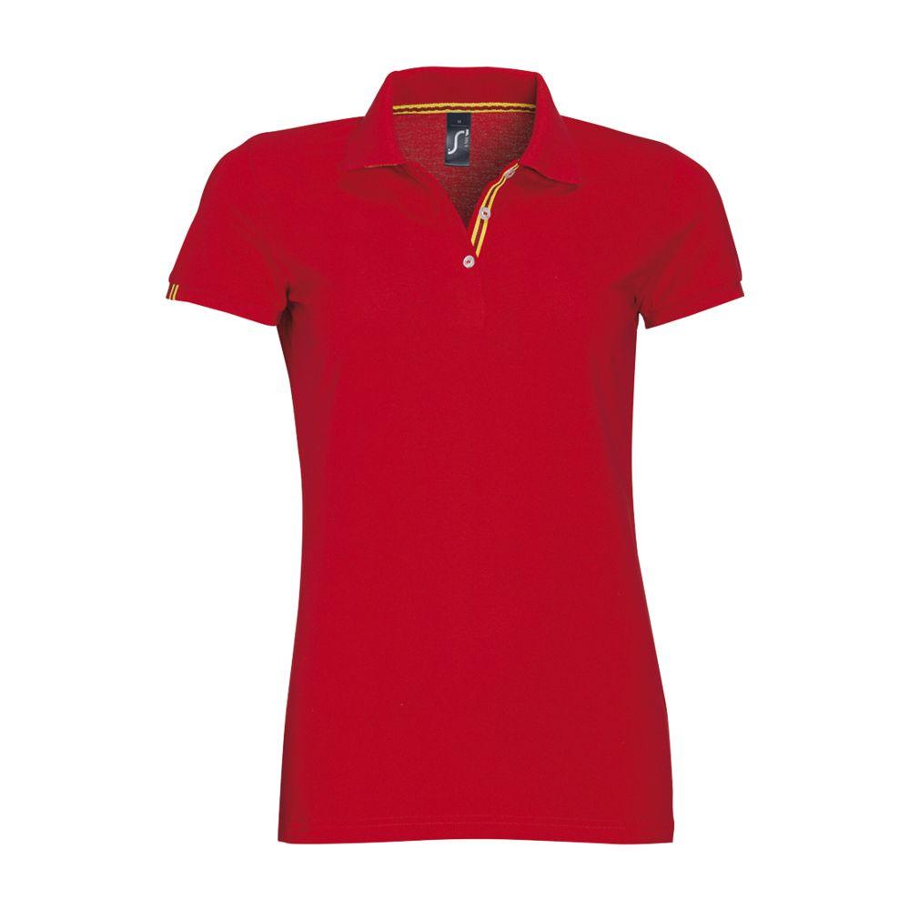 Рубашка поло PATRIOT WOMEN красная, размер M