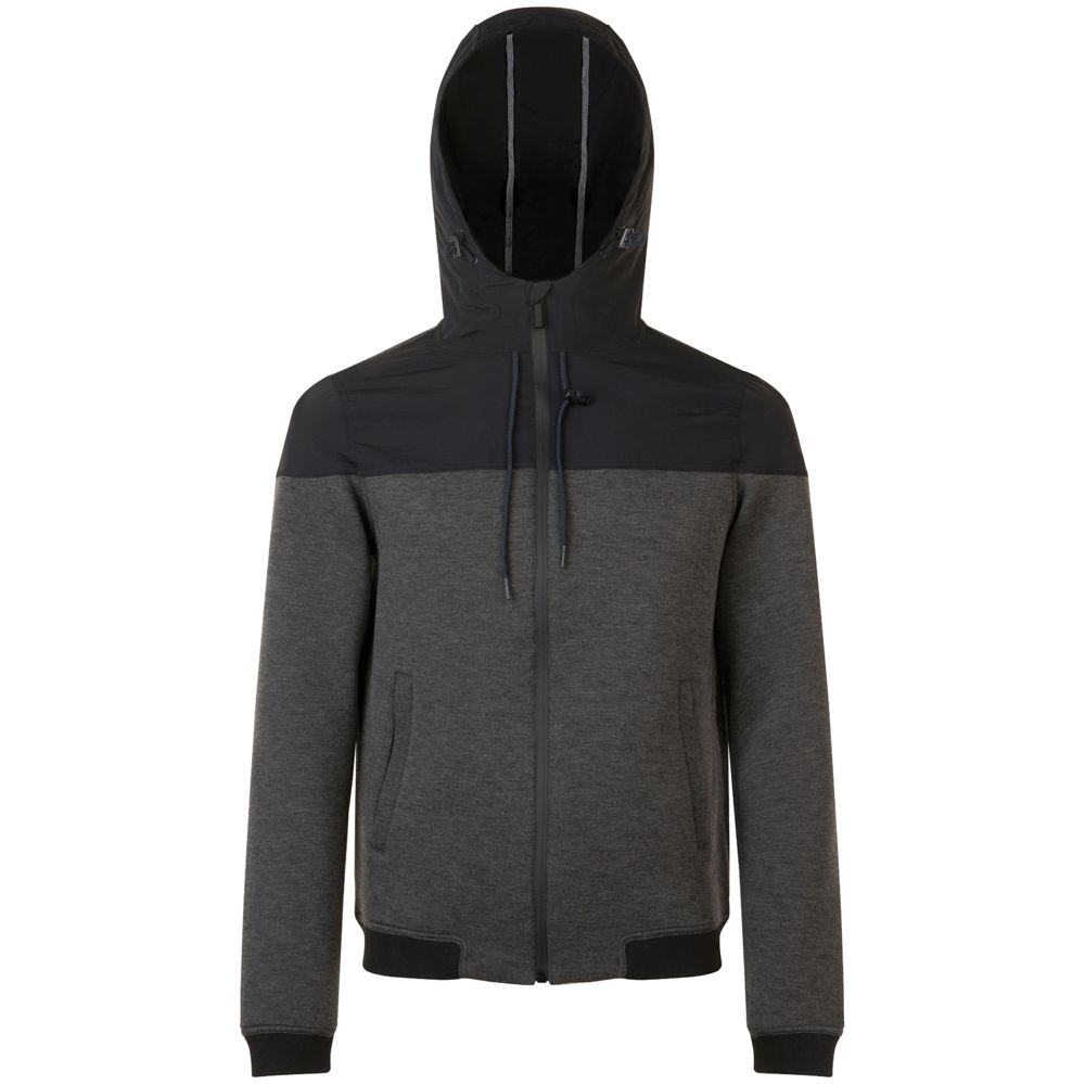 Фото - Куртка унисекс VOLTAGE черный меланж/черный, размер XL дутики для девочки biki цвет черный a b23 33 c размер 34