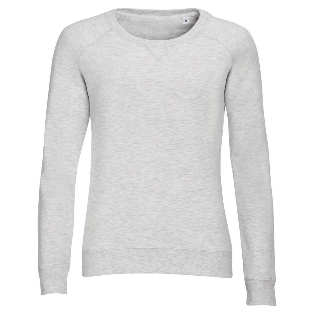 Толстовка STUDIO WOMEN серый меланж, размер M толстовка studio women серый меланж размер xs