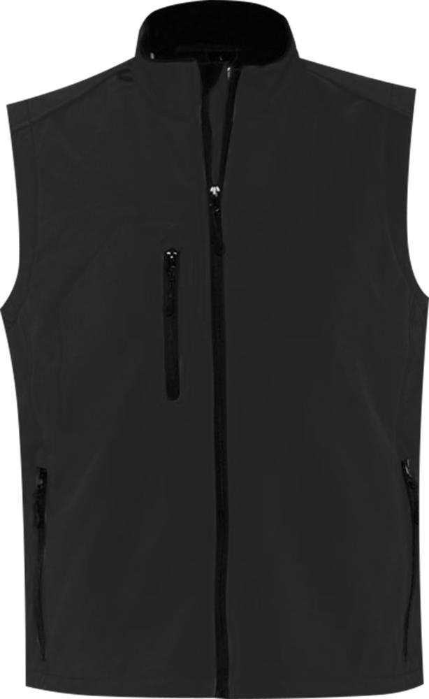 Жилет мужской софтшелл RALLYE MEN черный, размер L фото