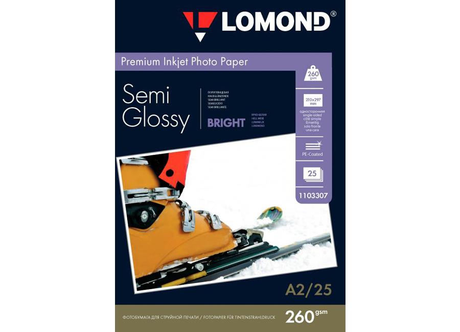 Фото - Lomond для струйной печати, A2, 260 г/м2, 25 листов, односторонняя, полуглянцевая (1103307) printio плакат a2 42×59 overwatch reaper жнец овервотч