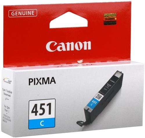 Фото - Чернильница Canon CLI-451C (6524B001) картридж canon cli 451c 6524b001 для canon pixma ip7240 mg6340 mg5440 голубой