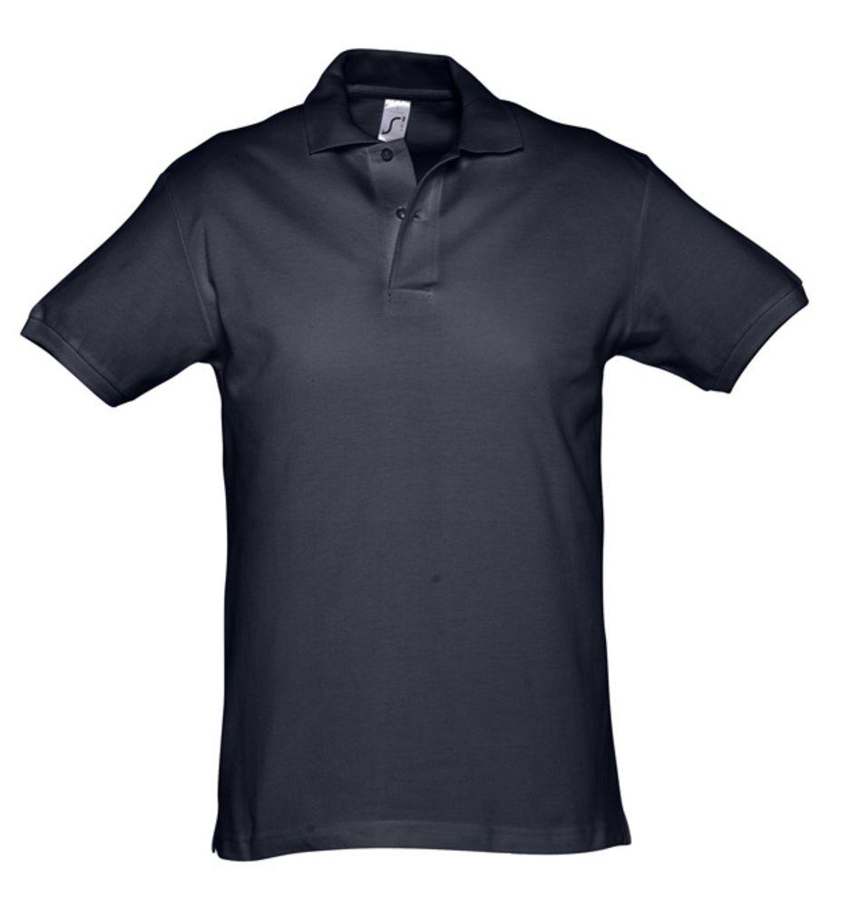 Рубашка поло мужская SPIRIT 240 темно-синяя (navy), размер S рубашка поло мужская spirit 240 ярко синяя размер xxl