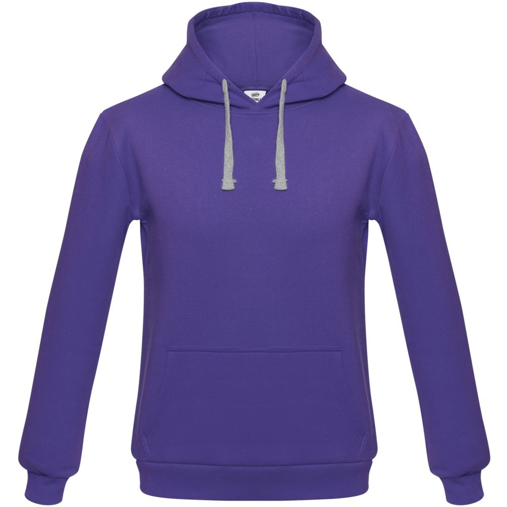 Толстовка с капюшоном Unit Kirenga фиолетовая, размер XXL толстовка с капюшоном unit kirenga фиолетовая размер 4xl
