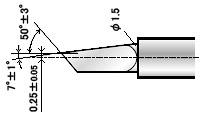 Фото - Нож ZEC-U5025 универсальный (угол 50) для плоттеров Roland (оригинальный) угол внутренний д плинтуса идеал комфорт карагач 2шт