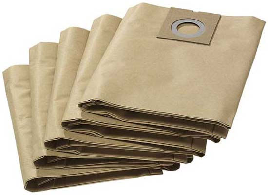Бумажные фильтр мешки (двухслойные) для пылесоса NT 27/1 цена и фото