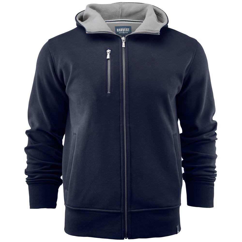 Толстовка мужская PARKWICK темно-синяя, размер XL толстовка мужская adidas beckenbauer tt цвет красный dh5830 размер xl 56 58