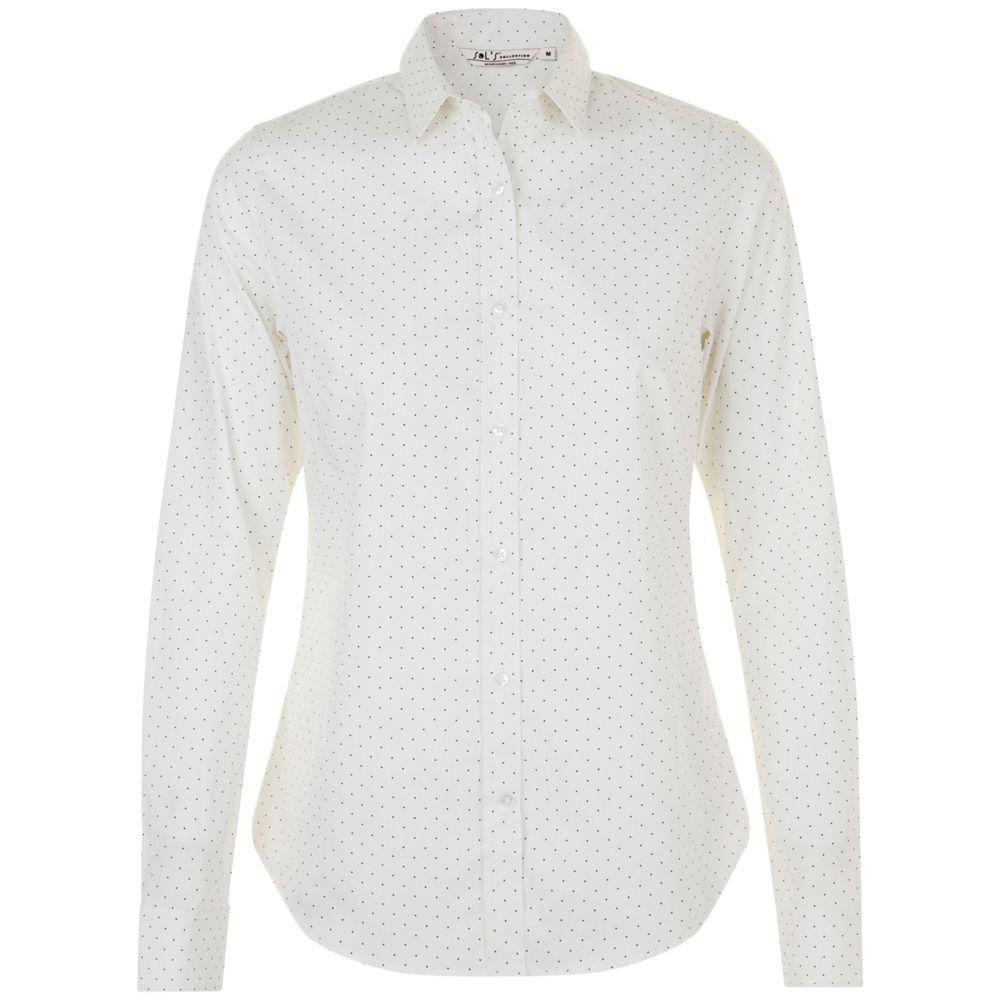 Рубашка женская BECKER WOMEN белый/темно-синий, размер XXL фото