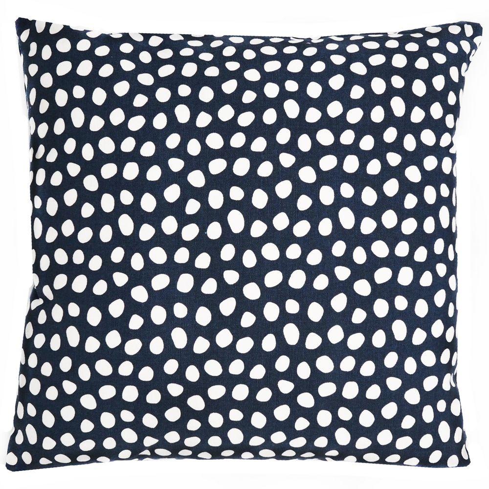 Чехол на подушку Funky dots, темно-синий