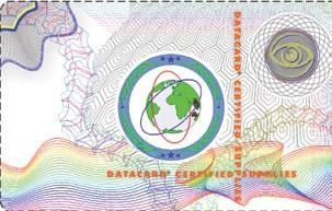 Фото - Ламинационное с голографическим рисунком DuraGard 0.6 mil Laminate Optigram(R) Datacard 538619-100 бермуды с рисунком