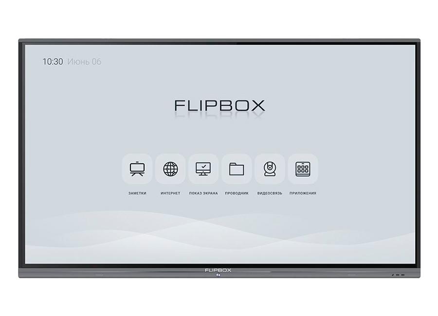 Фото - Flipbox 4.0 75, UHD, 20 касаний, Android 8.0 promethean activpanel titanium 70 uhd android 8 0 по activinspire pro