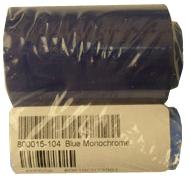 Фото - Монохромная синяя лента Zebra 800015-104 утеплённая куртка гк спецобъединение метель хаки р 104 108 рост 170 176 кур 304 104 170