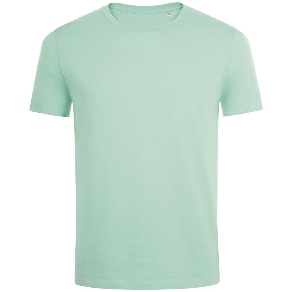 Фото - Футболка мужская MARVIN зеленая мята, размер 3XL футболка мужская marvin серый меланж размер 3xl